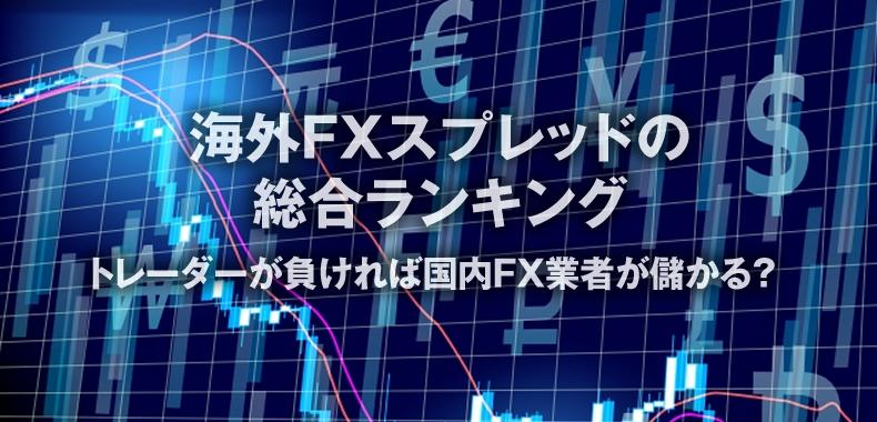 海外FXスプレッドの 総合ランキング